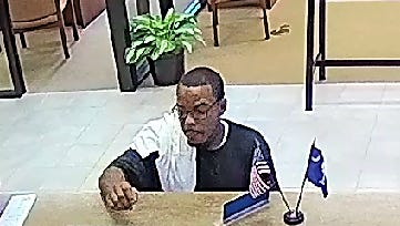 The Anderson County Sheriff's Office need help identifying a suspect in a bank robbery.