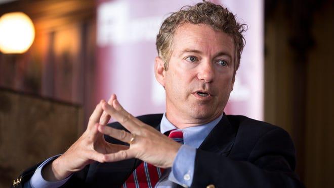 Sen. Rand Paul in April 2014.
