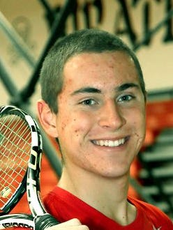 Pinckney's Nick Romano recently signed to play tennis at Spring Arbor in the fall.