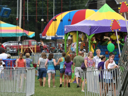 The Christian County Fair is Friday and Saturday at Finley River Park in Ozark.