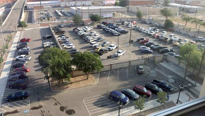 City officials said the construction and development of two new parking areas with enhanced security walls and systems was among the Amarillo Police Department projects completed with Proposition 2 funds.