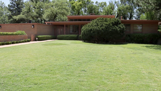 The home designed by famed architect O'Neil Ford is located at 2105 S. Julian. It was custom built by the Altman family in 1952.