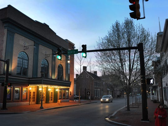 Schwartz Center for the Arts on historic State St. in Dover.
