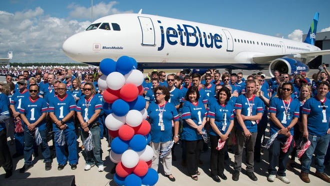 On April 25, 2016, JetBlue received the first aircraft – an A321 – to be delivered from the Airbus U.S. Manufacturing Facility in Mobile, Ala.