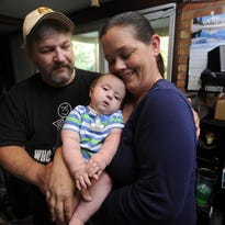 Delta Twp. infant survives challenges to celebrate first birthday