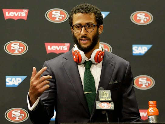 Colin Kaepernick has earned several honors this week but hasn't signed an NFL contract.