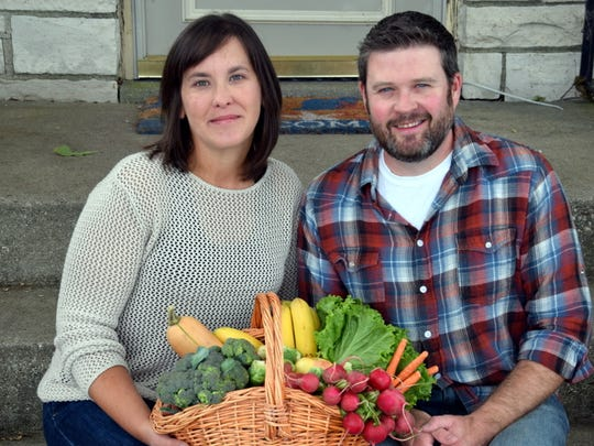Amanda and Brandon Ferguson own Milwaukee-based Brewer's Organics, which delivers fresh produce to homes in Milwaukee, Madison and the Fox Valley.