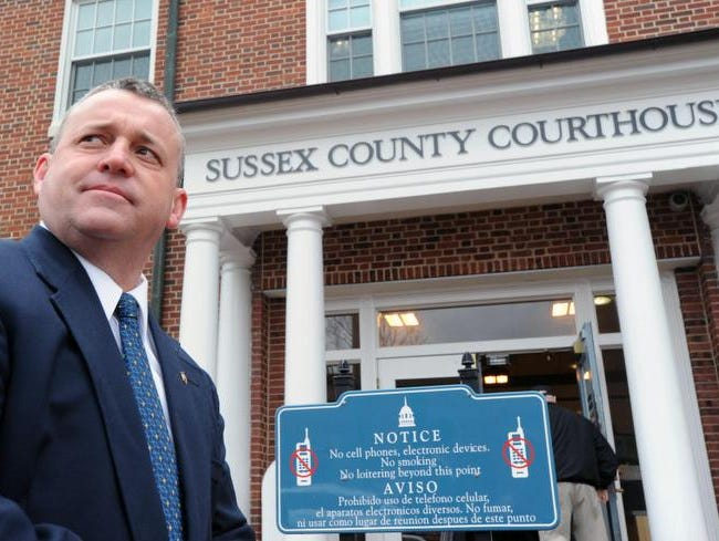 Sussex County Sheriff Jeff Christopher will seek a second term after earlier intimating he would leave the state after he failed to win a lawsuit that would have given his department powers of arrest. State lawmakers later passed a measure defining the role of sheriffs.