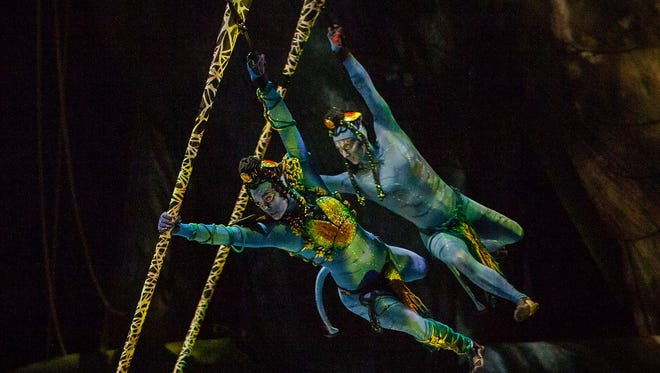 """""""Toruk – The First Flight"""" will be presented Aug. 10-14 at Bankers Life Fieldhouse."""