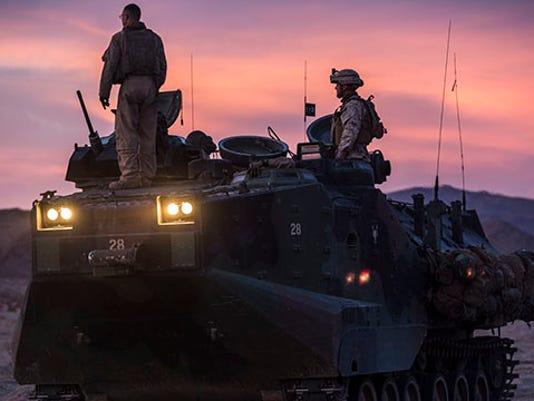 Tanks assault through ITX 2-15