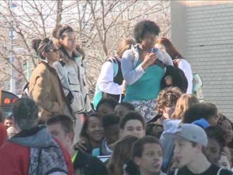 Timken students protest
