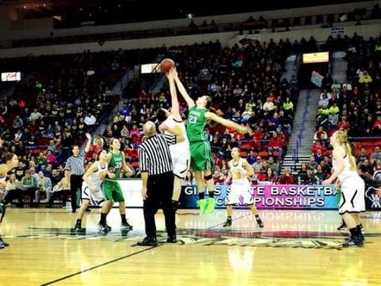 The Resch Center annually hosts the  WIAA  girls basketball
