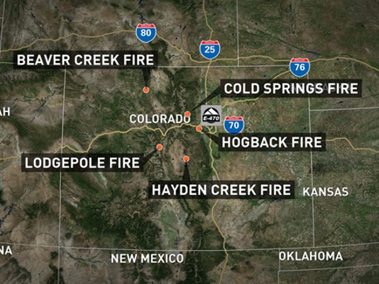 Latest Colorado wildfire update