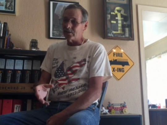 Koenemund, currently resides in Alamogordo and has a vast collection of Sept. 11 memorabilia.