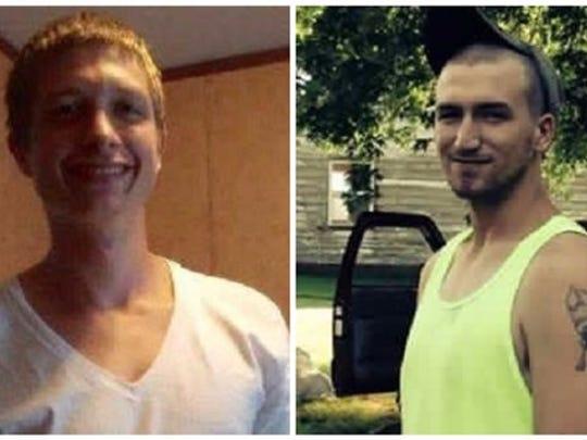 Beau Dewitt and Aaron Brock, sent by Caitlin Nicole