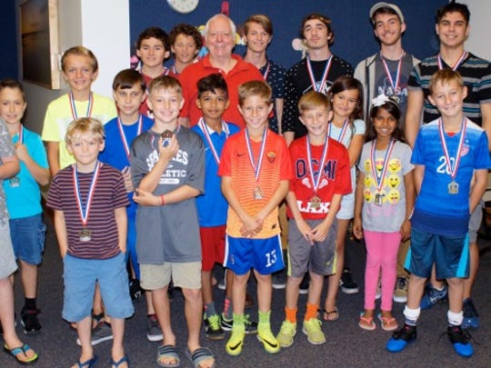Saturday March 25, chess players competed over five