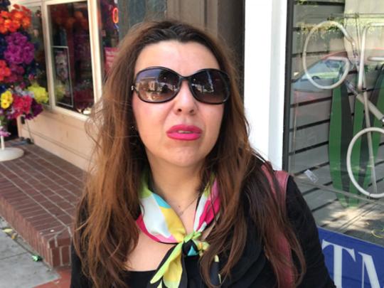 Giovanna Pena, Ossining resident, speaks about deportation