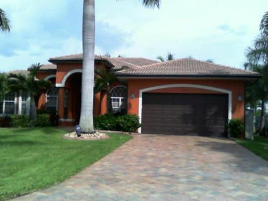 This home at 5038 Sorrento Court, Cape Coral, sold