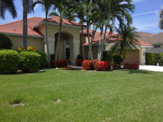 This home at 1438 SW 54th Terrace, Cape Coral, recently