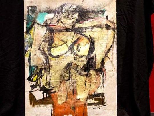 """Willem de Kooning's """"Women-Ochre."""""""