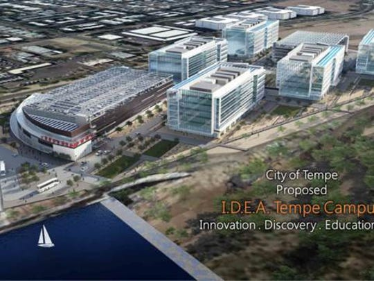 Tempe is planning to create a campus which would help encourage small tech growth.