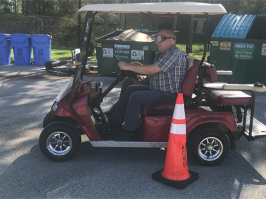 DUI goggles, approximately a person driving under three-times the legal limit of alcohol, were part of an obstacle course operated by the Florida Highway Patrol in advance of Labor Day.