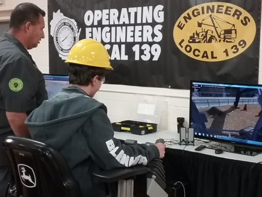 Wausau East students attended a Construction Trades