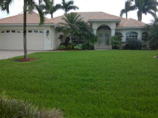 This home at 4809 SW 25th Place, Cape Coral, recently