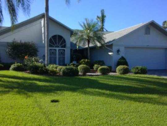 This home at 1434 SW 54th Terrace, Cape Coral, recently