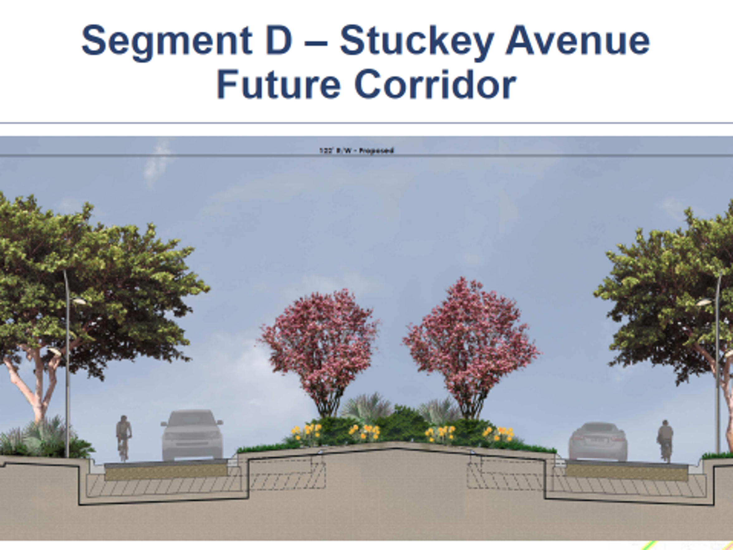 A look at what Stuckey Avenue could look like in the