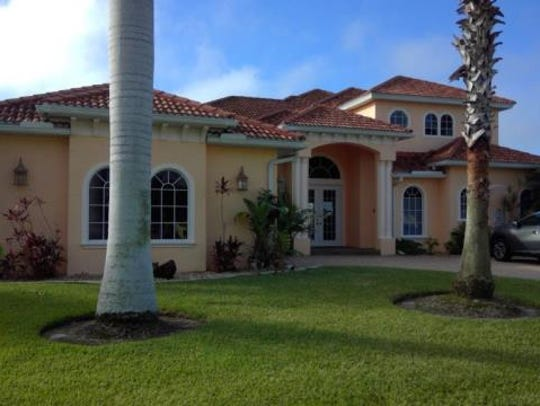 This home at 416 SW 52nd St., Cape Coral, recently