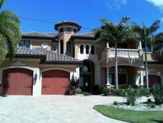 This home at 1641 Edith Esplanade, Cape Coral, recently