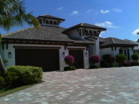 This home at 4125 SW 28th Place, Cape Coral, recently