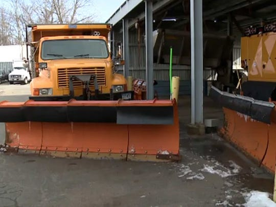 Road crews in Missouri and Arkansas are ready for the wintry blast.