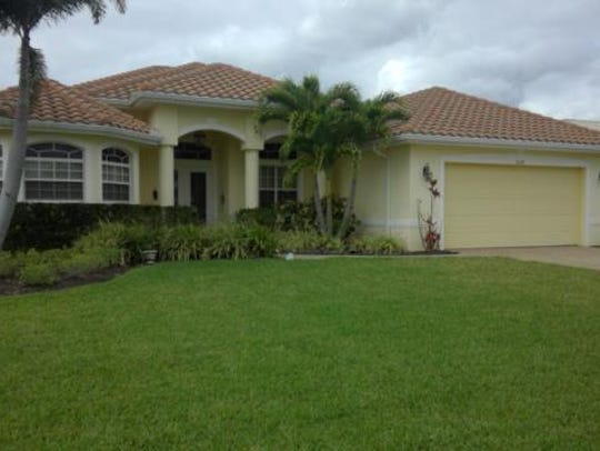 This home at 5024 SW17TH AVE., Cape Coral, recently