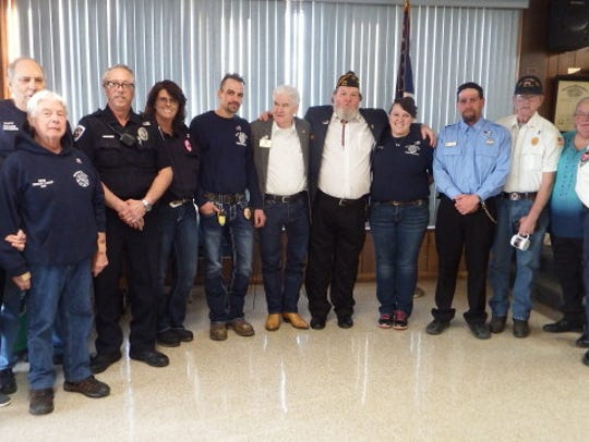 Representatives from the Bull Shoals Police Department