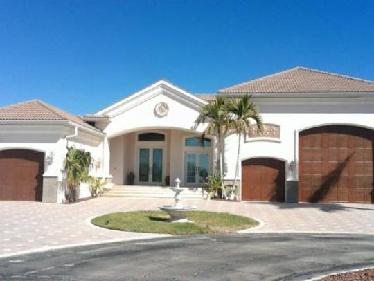 This home at 4323 NW 24th Terrace, Cape Coral, recently