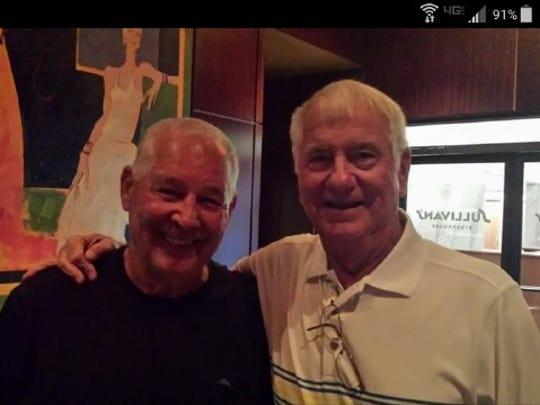 Augie Garrido, left, and Mike Martin in Omaha, Nebraska,