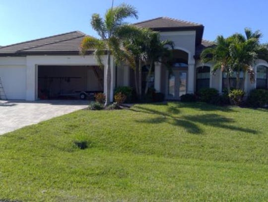 This home at 2704 SW 46th Terrace, Cape Coral, recently