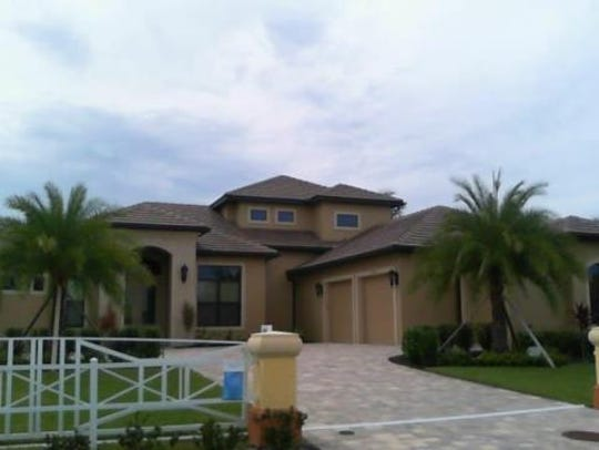 This home at 2030 El Dorado Parkway W., Cape Coral,