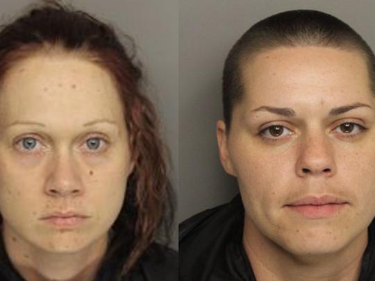 Left: Sabrina Nicole Rochester, 31, of Brick Mill Road