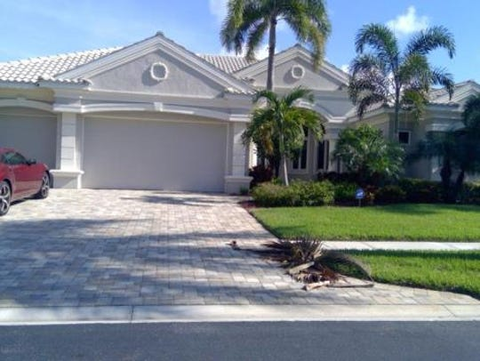 This home at 1815 Harbour Circle,Cape Coral, recently