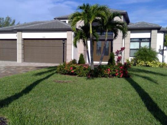 This home at 4346 SW 10th Ave., Cape Coral, recently