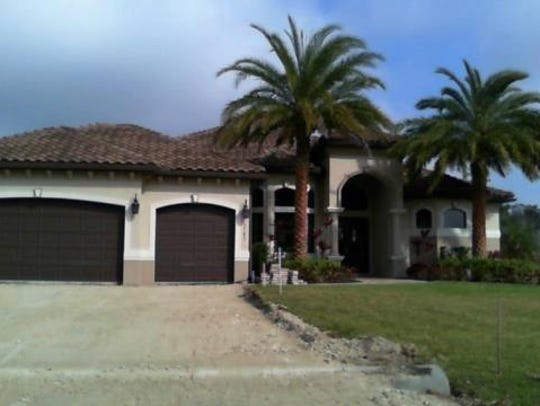 This home at 5745 Rose Garden Road, Cape Coral, recently