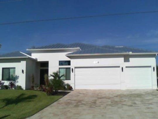 This home at 5216 SW 20th Ave., Cape Coral, recently
