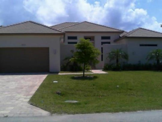 This home at 4923 SW 2nd Ave., Cape Coral, recently