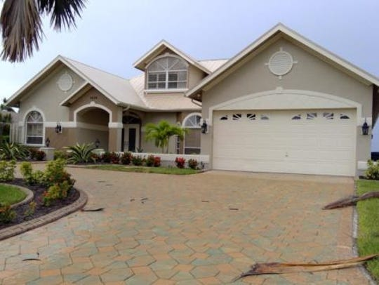 This home at 1638 Edith Esplanade, Cape Coral, recently