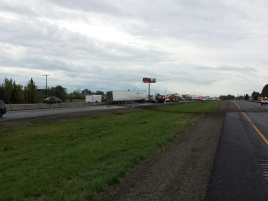 Fatal crash on I-5 near Albany.