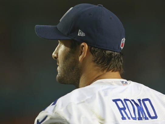 Tony Romo podría volver a la acción el domingo frente