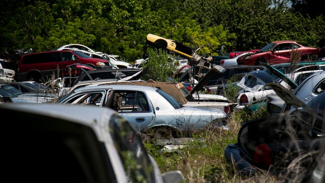 According to Willie Green, Fort Myers has more junkyards per capita than any other city its size in the Southeast.